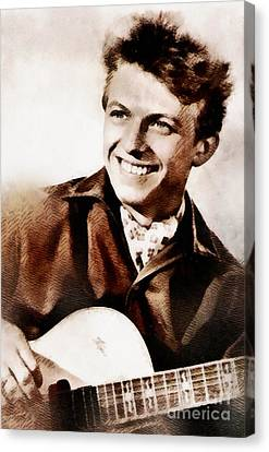 Steele Canvas Print - Tommy Steele, British Actor And Singer by John Springfield