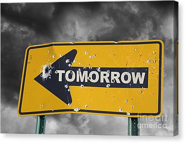 Hightower Canvas Print - Tomorrow by Tim Hightower