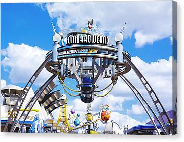 Tomorrowland Canvas Print by Greg Fortier