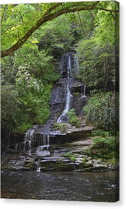 Tom's Branch Falls On Deep Creek Canvas Print