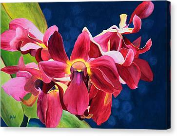 Tom's Orchid Canvas Print