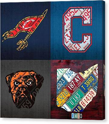 Tons More Sports City Designs Just Canvas Print by Design Turnpike