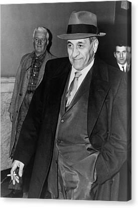 Tony Accardo, Successor Of Al Capone Canvas Print by Everett