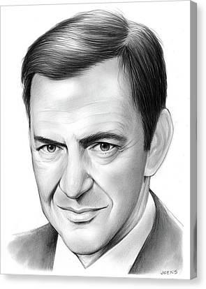 Tony Randall Canvas Print by Greg Joens