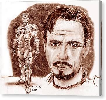 Ironman Canvas Print by Chris  DelVecchio