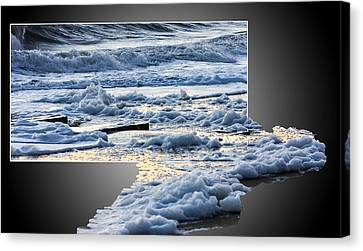 Too Big For The Frame Canvas Print by Allan Levin