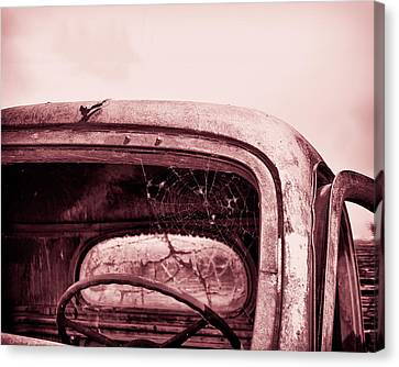 Canvas Print featuring the photograph Too Old To Drive by Mary Hone