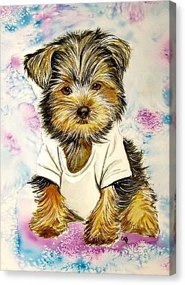 Too Sexy For My Shirt Canvas Print by Carol Blackhurst