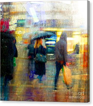Canvas Print featuring the photograph Too Warm To Snow by LemonArt Photography