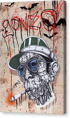 Too Weird To Live Too Rare To Die Canvas Print by Tai Taeoalii