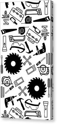 Tool Belt 1 Phone Case Canvas Print by Edward Fielding
