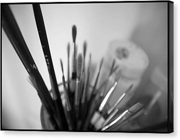 Tools Of The Trade Canvas Print by Julia Bridget Hayes