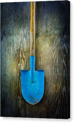Tools On Wood 23 Canvas Print by Yo Pedro