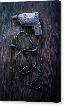 Tools On Wood 27 Canvas Print by Yo Pedro
