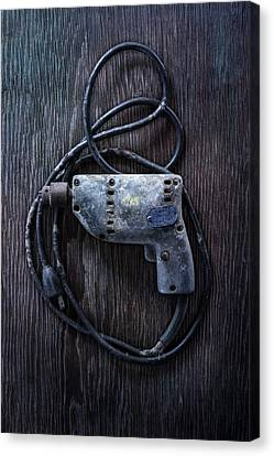 Tools On Wood 28 Canvas Print by YoPedro
