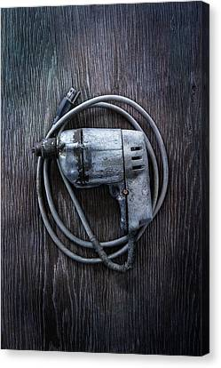 Tools On Wood 30 Canvas Print by YoPedro