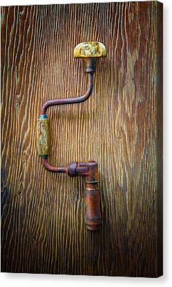 Tools On Wood 61 Canvas Print by YoPedro