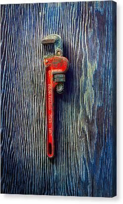 Tools On Wood 62 Canvas Print