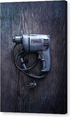 Tools On Wood 76 Canvas Print by YoPedro