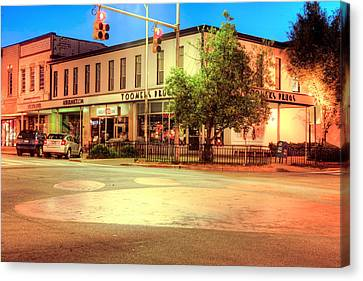 Toomers Corner Canvas Print by JC Findley