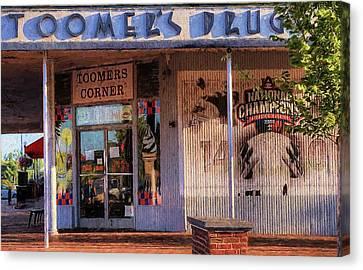 Toomer's Drugs Canvas Print