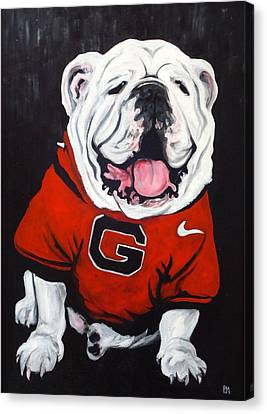 Top Dawg Canvas Print