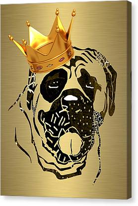 Top Dog Collection Canvas Print by Marvin Blaine