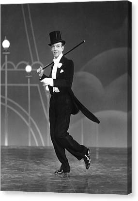 Top Hat, Fred Astaire, 1935 Canvas Print by Everett