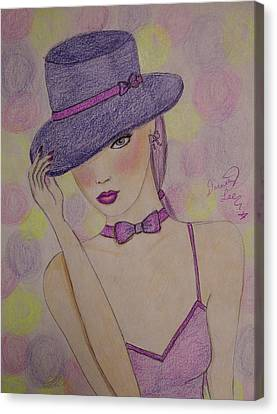 Top Hat Tilt Canvas Print by Dorothy Lee