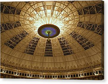 Top Of The Dome Canvas Print by Sandy Keeton