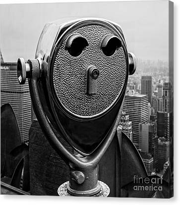Top Of The Rock Canvas Print by Edward Fielding