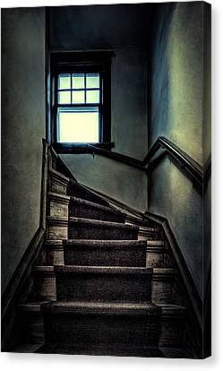 Top Of The Stairs Canvas Print by Scott Norris