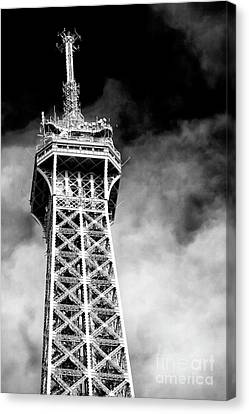 Top Of The Tower Canvas Print by John Rizzuto