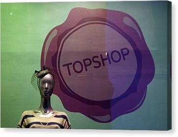 Top Shop Top Me Canvas Print by Jez C Self