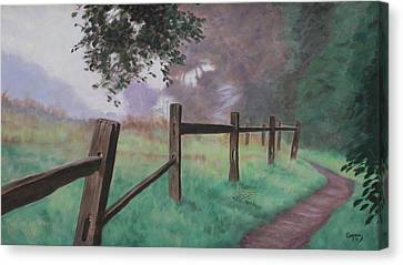 Topanga Morning Canvas Print