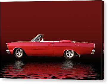 Topless Galaxie Canvas Print by Bill Dutting