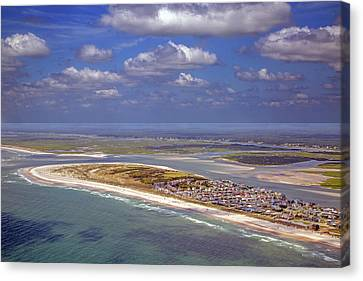 Coastal Places Canvas Print - Topsail Overlook by Betsy Knapp