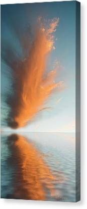 Torch Of Freedom Canvas Print by Jerry McElroy