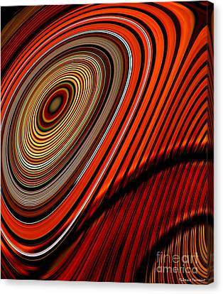 Tormented Eye Canvas Print by Thibault Toussaint