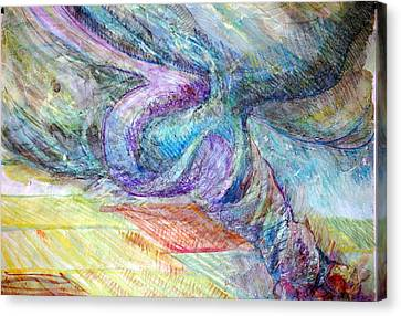 Tornado 7 Canvas Print by Jame Hayes