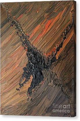 Tornado Abstract Canvas Print by Shelly Wiseberg
