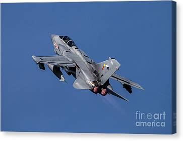 Tornado Gets Airborne  Canvas Print by J Biggadike