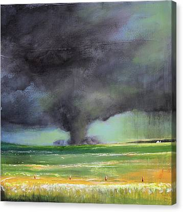 Tornado On The Move Canvas Print