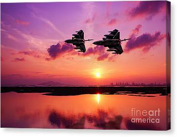 Tornado Wingman Canvas Print by J Biggadike