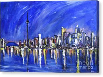 Toronto Canvas Print by Debora Cardaci