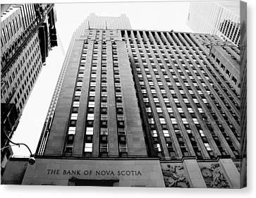 Toronto Historic Building Canvas Print