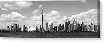 Toronto Skyline 11 Canvas Print by Andrew Fare