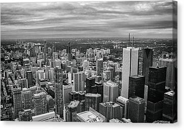 Toronto Skyline Canvas Print by Martin Newman