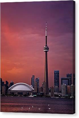 Toronto Sunset Canvas Print