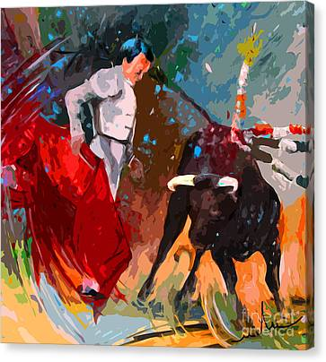 Toroscape 05 Canvas Print by Miki De Goodaboom